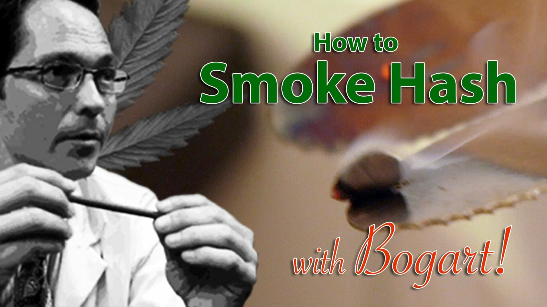 How to Smoke Hash Marijuana Tips & Tricks w/ Bogart #17