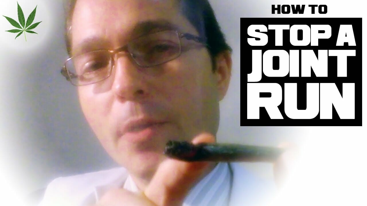 How to Stop a Joint Run Marijuana Tricks & Tips w/ Bogart #16