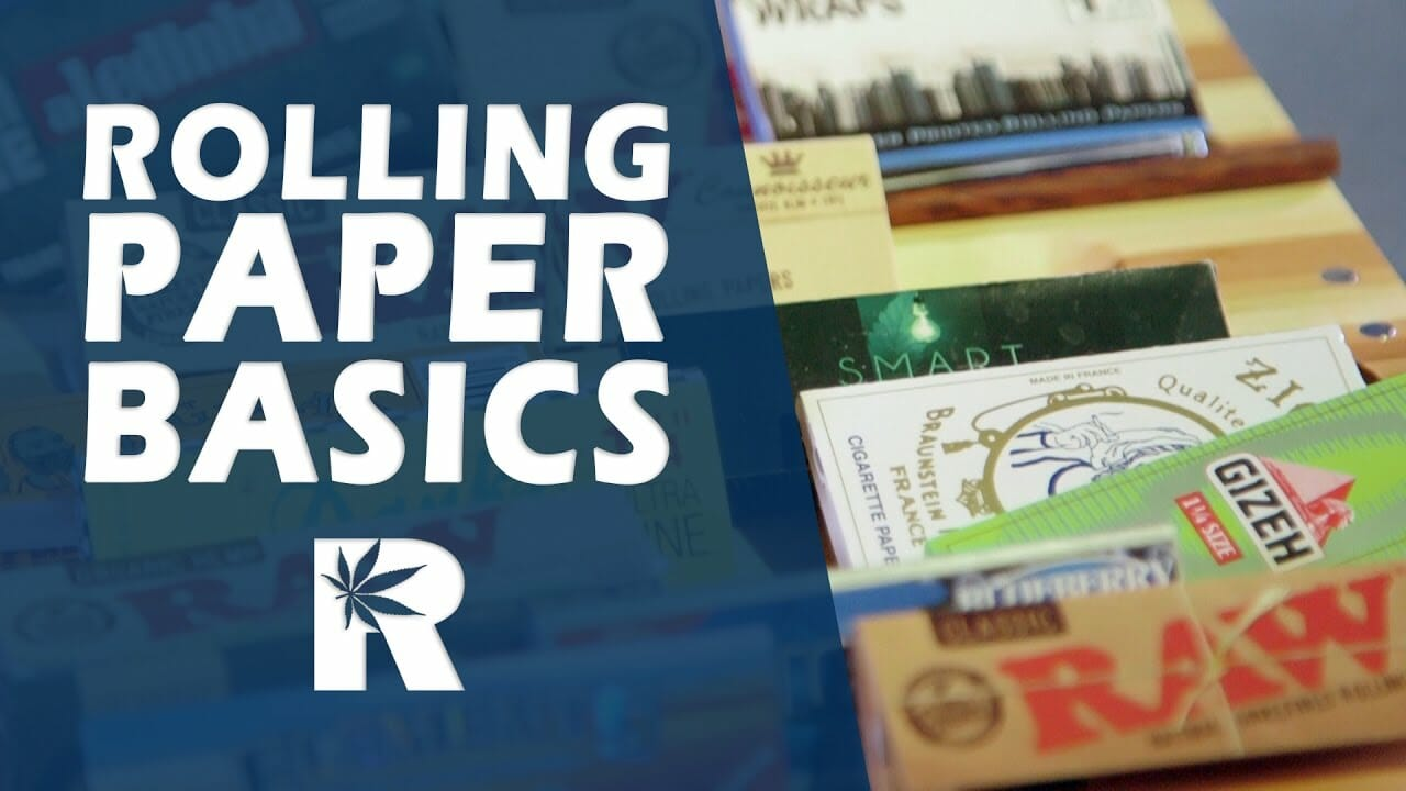 Rolling Papers Basics (RAW, Elements, JOB, Joker, Bugler etc.): Cannabasics #45