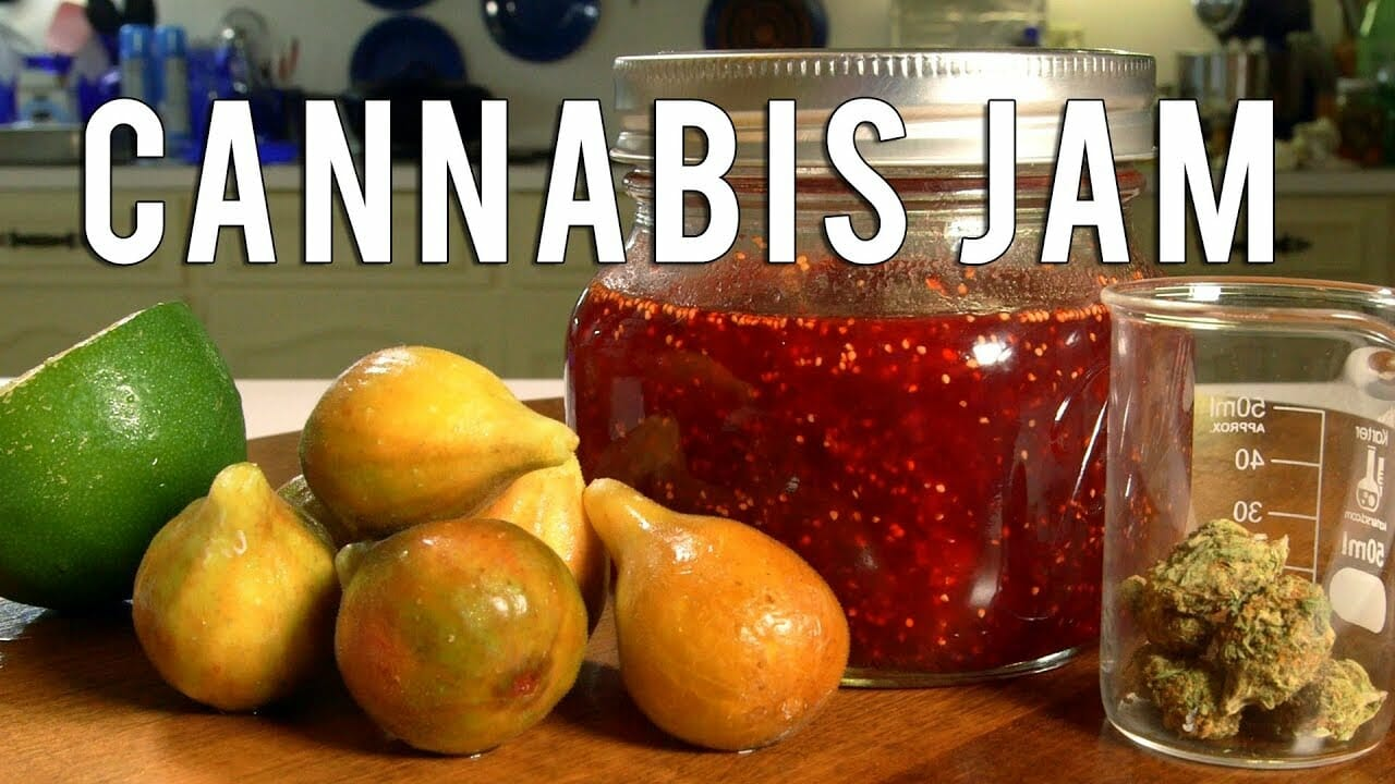 Cannabis Infused Faux Fig Jam Recipe