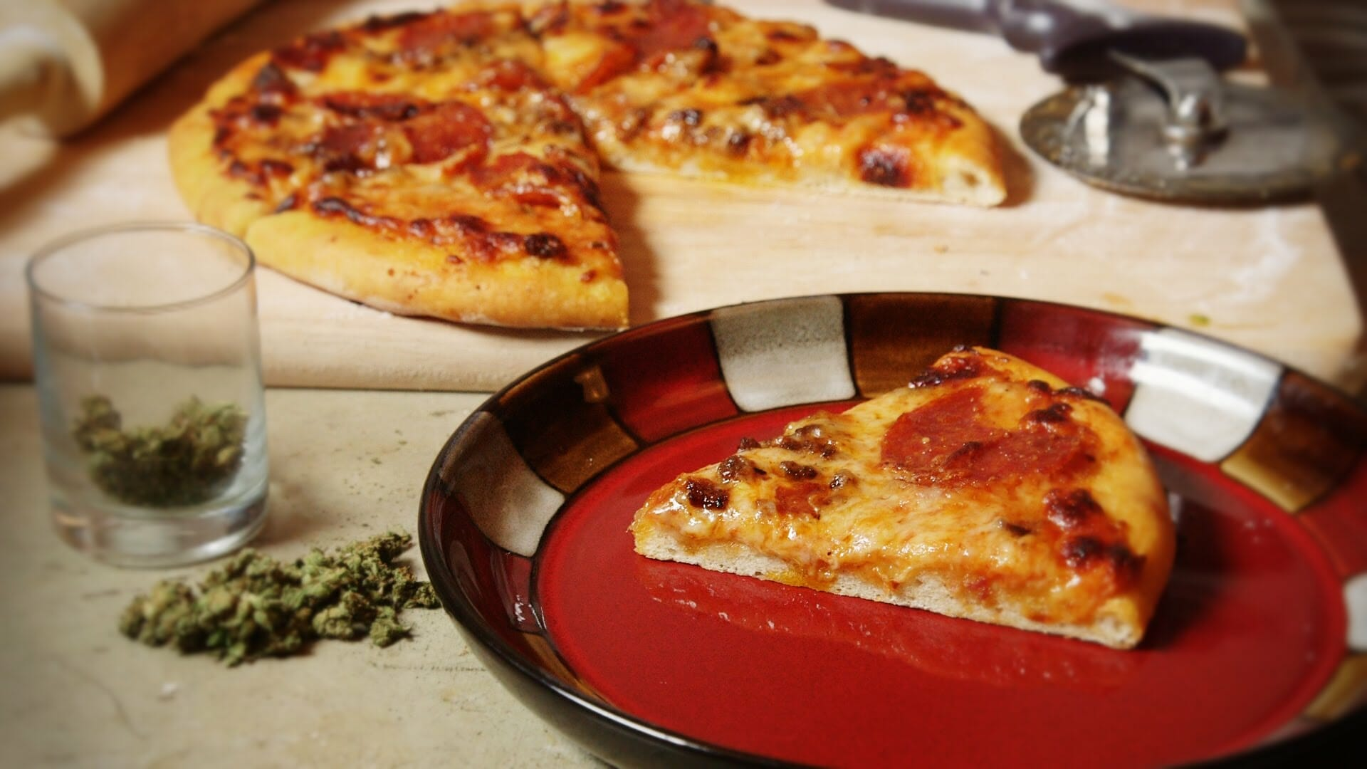 Cannabis Infused Pizza Recipe