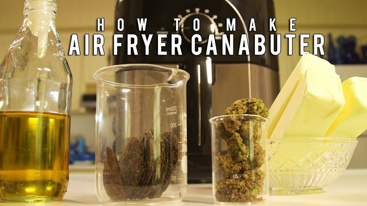 How To Make Cannabutter In an Air Fryer
